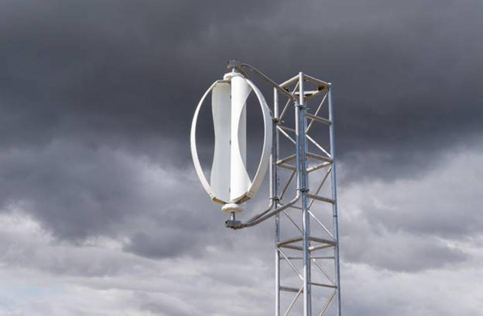 Another type of wind turbine power generator from IceWind.