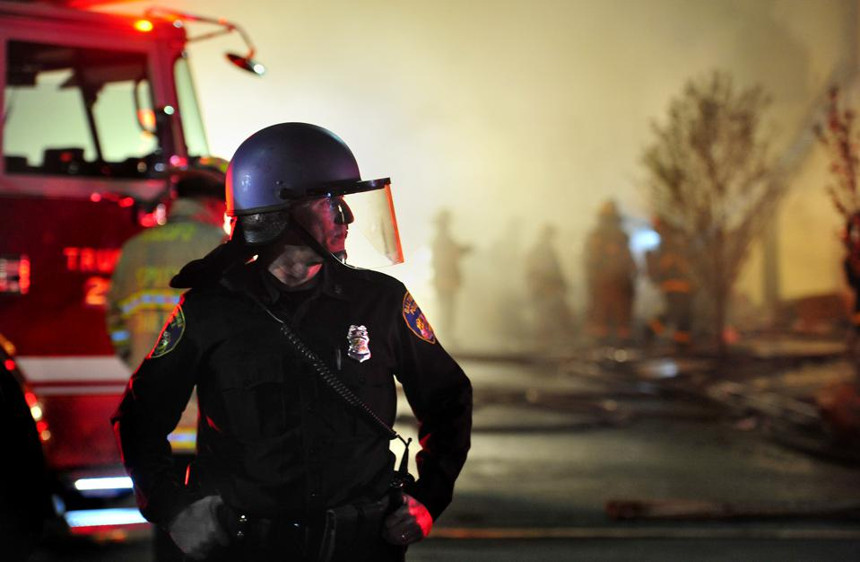Fires and Violence in Baltimore