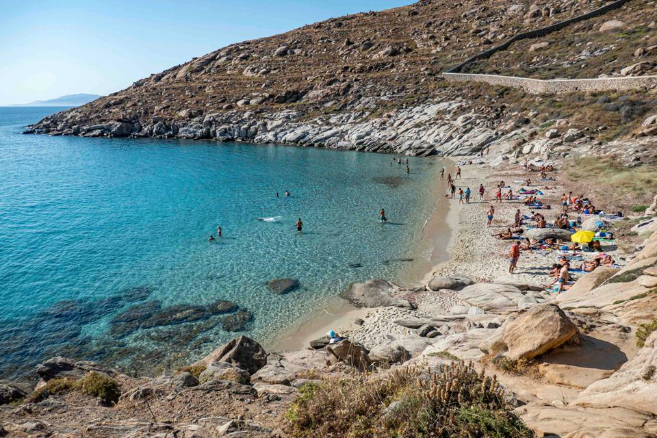 Kapari Nudist Beach In Greece