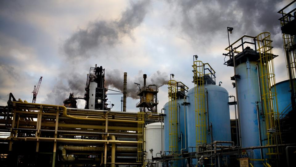 Baytown Exxon gas refinery
