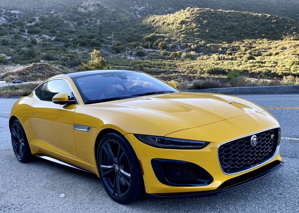 Jaguar F-type R can street race, but it is a Gran Turismo for grownups.
