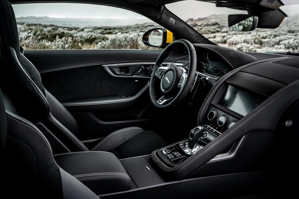A well-dressed interior for what may be the final evolution of F-type R.