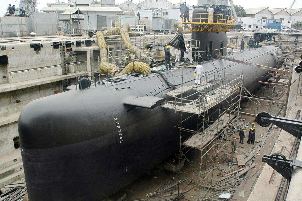 The Pakistani Navy Agosta-90B class submarine is fitted with AIP