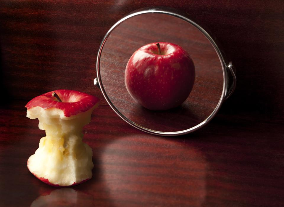 One symptom of Anorexia Nervosa is a disturbance in the way they view their body shape.