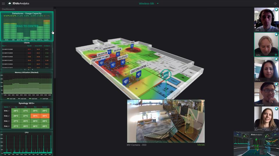 3Data Analytics is a simulation platform that can be used across mobile, desktop, VR, AR