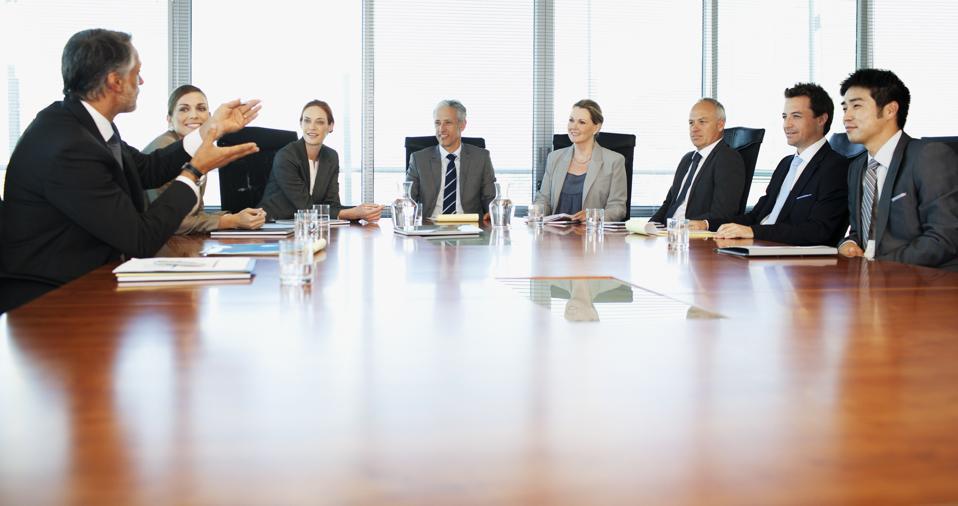 leadership team making preparations for embedding diversity