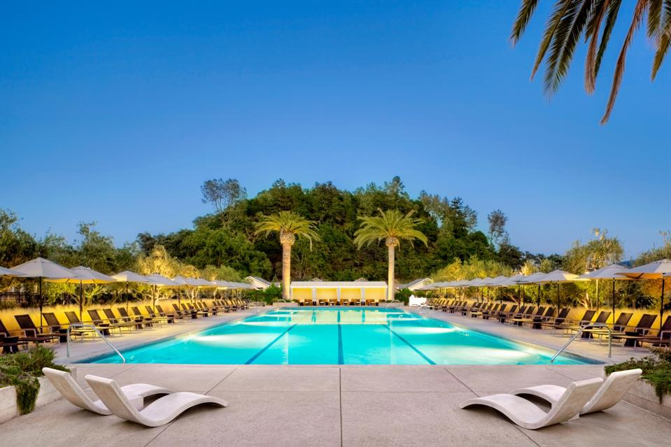 The pool at Solage, Auberge Resorts Collection.