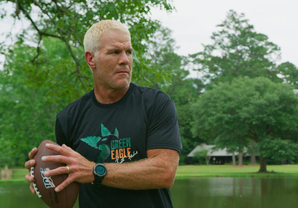Brett Favre, NFL Hall of Famer, who is now official brand ambassador for Green Eagle
