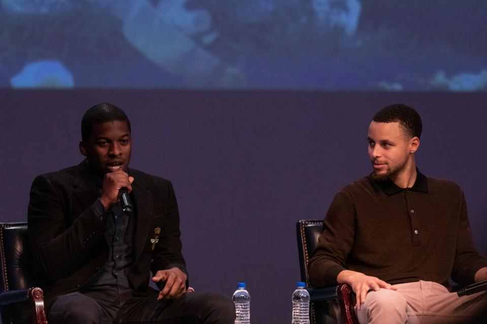Stephen Curry Screens New Film Emanuel At Howard University