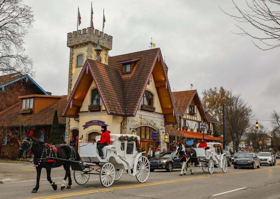 U.S.-MICHIGAN-FRANKENMUTH-BAVARIAN-THEMED TOWN-TOURISM