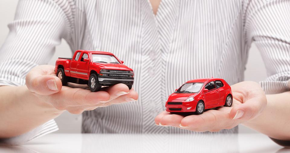 Moving to smaller cars will affect energy consumption.