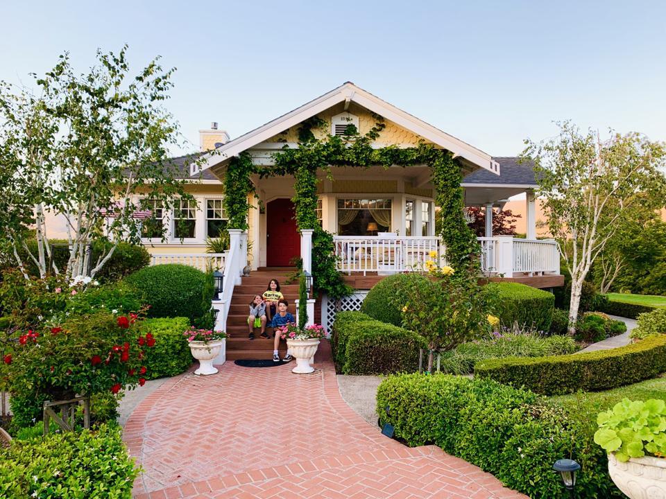 Farm house in California.