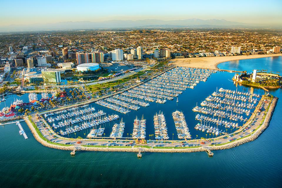 Long Beach California Aerial