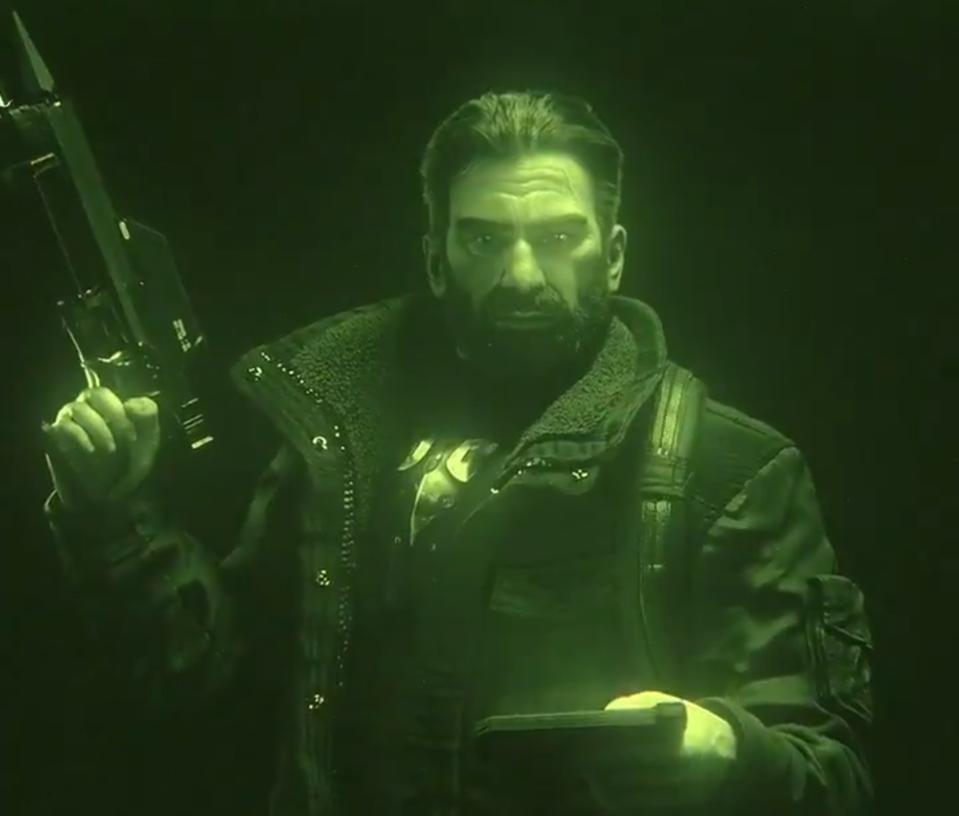 Sam Fisher in Rainbow Six: Siege