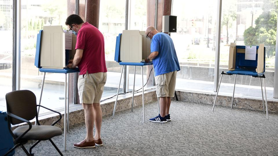 Wisconsin Voters Go To The Polls In State Primary