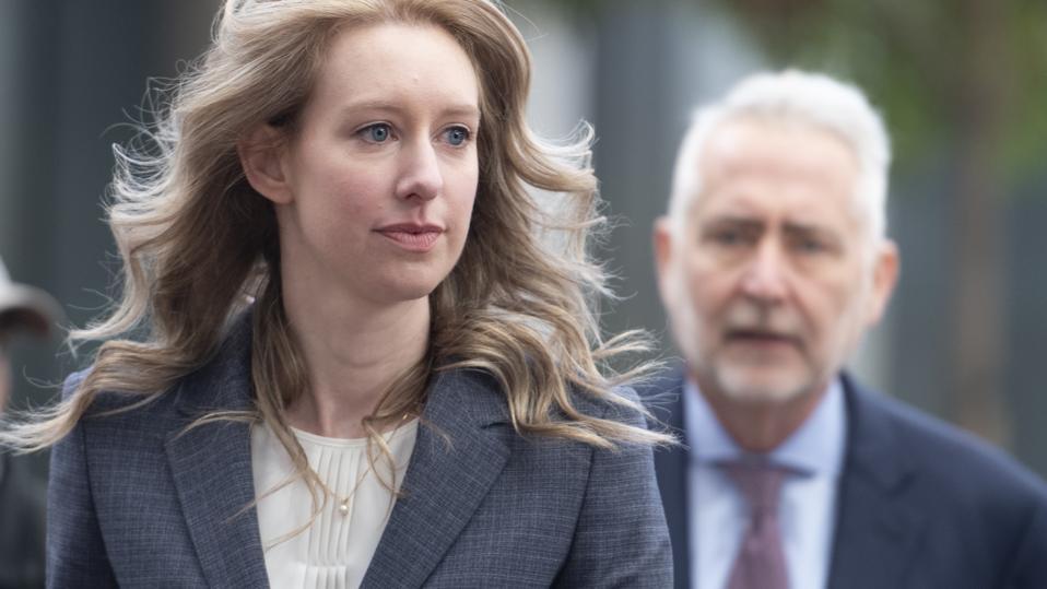Elizabeth Holmes Theranos Court Hearing
