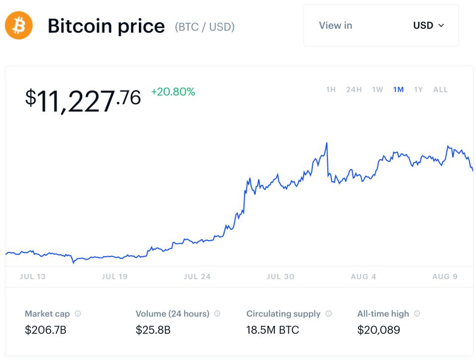 bitcoin, bitcoin price, Apple, Amazon, Google, Facebook, chart