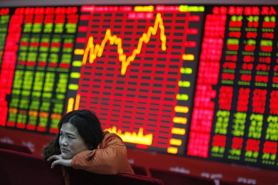 China Stocks End Week Lower