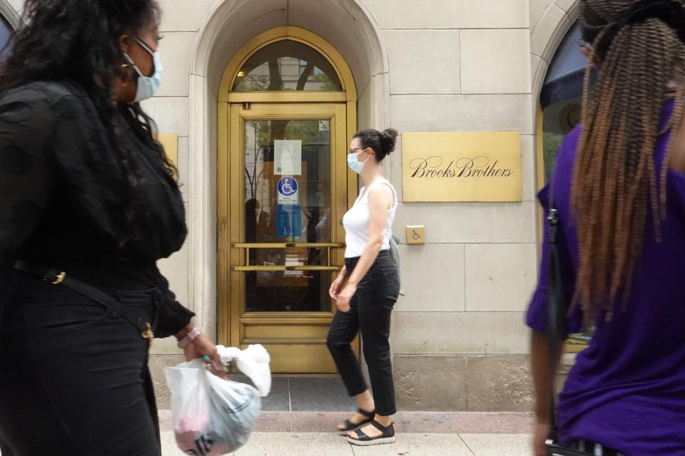 Clothing Retailer Brooks Brothers Files For Chapter 11 Bankruptcy Protection