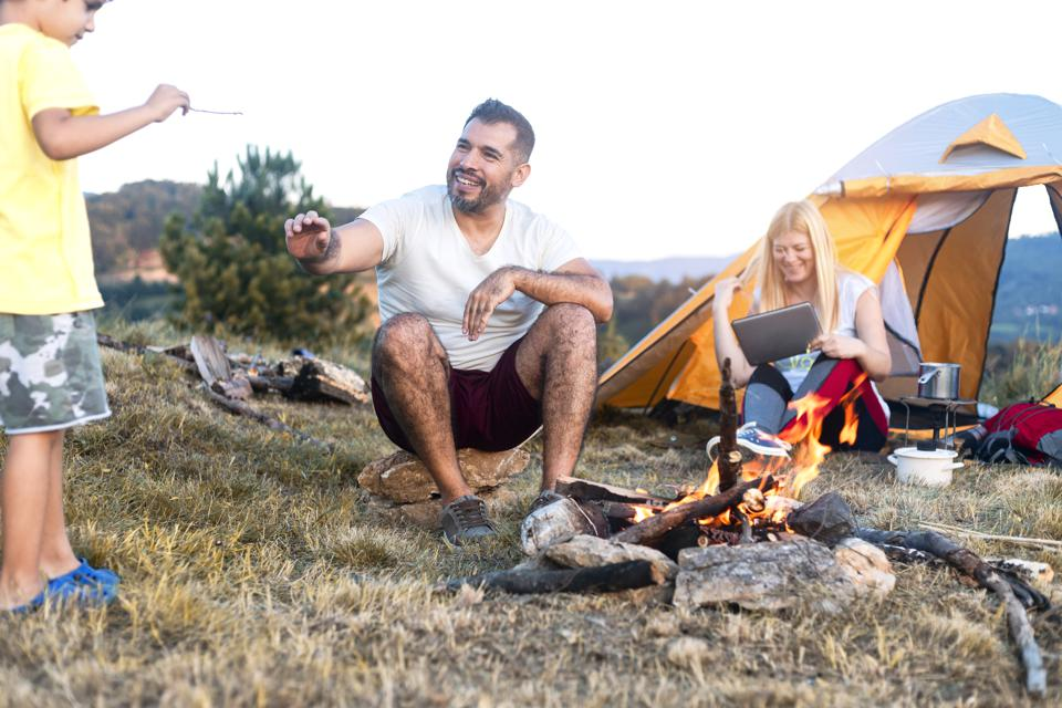 Campsite bookings have soared for 2021