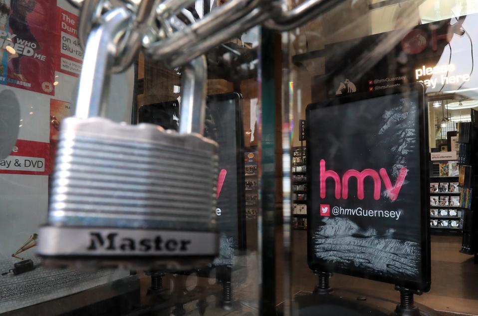 HMV finances