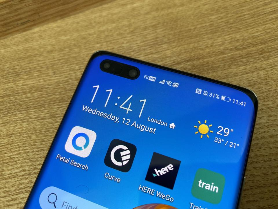 Huawei P40 Pro Plus with Curve, the latest App Gallery arrival.