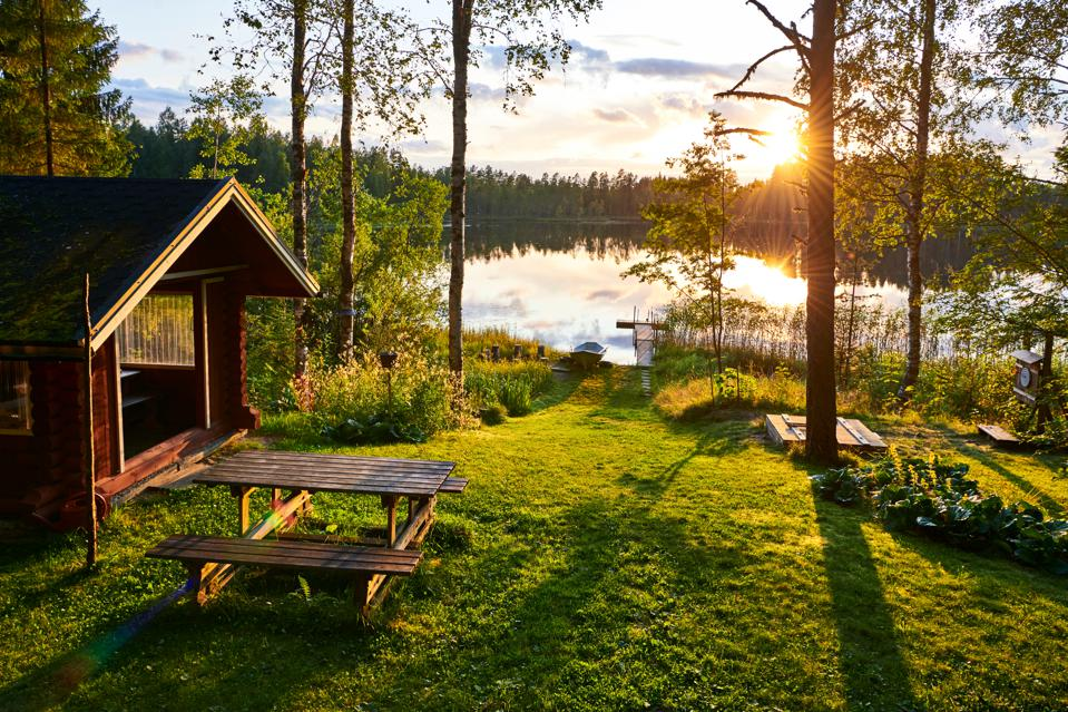Cabins are another big winner for 2020 and trends look likely to continue in 2021