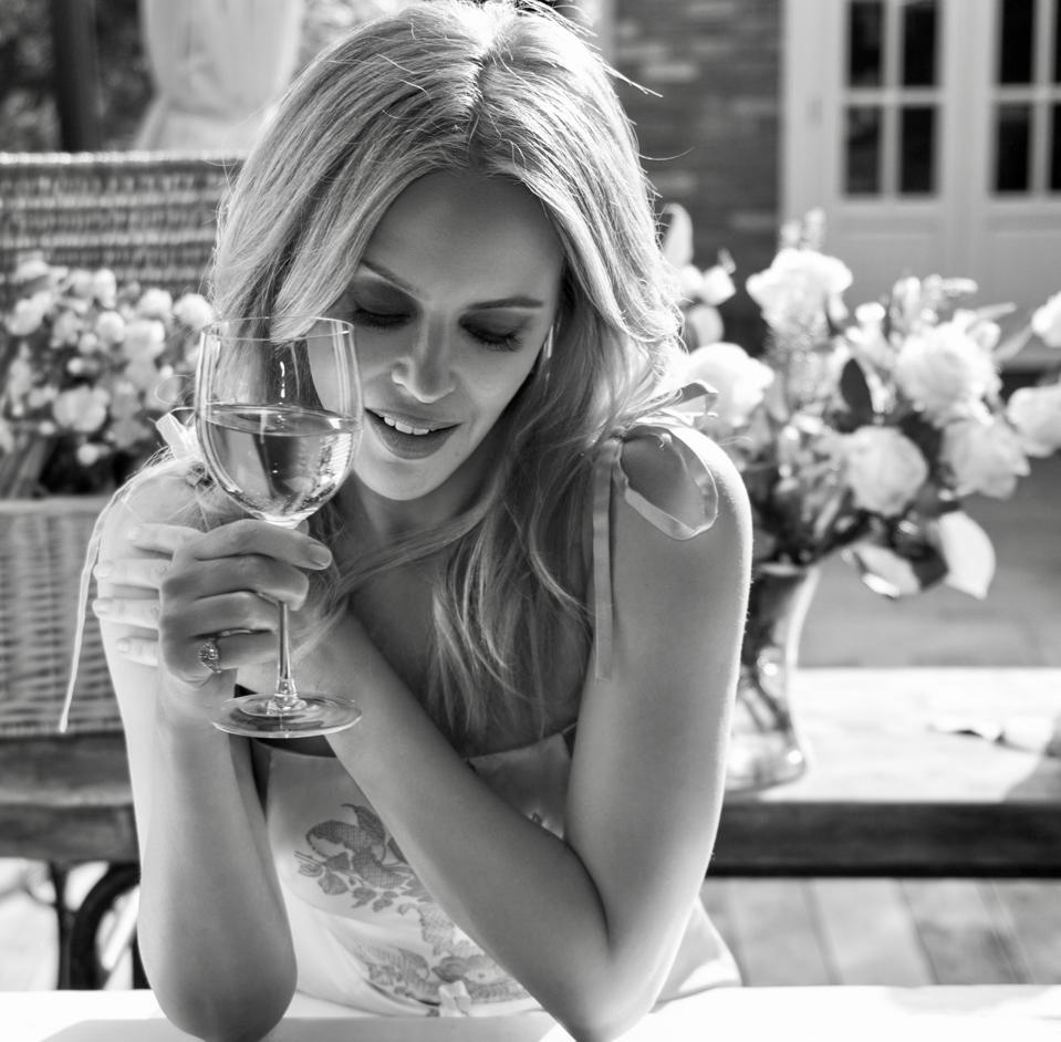 Kylie Minogue has launched her second wine, a Provençal rosé
