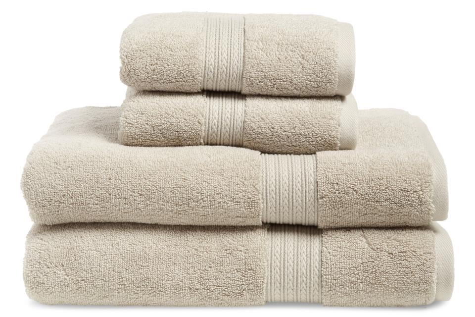 BP. 4-Piece Cotton Bath Towel & Hand Towel Set
