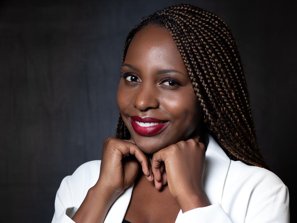 Emmie Chiyindiko, 26, chemistry Ph.D. student at South Africa's University of Free State