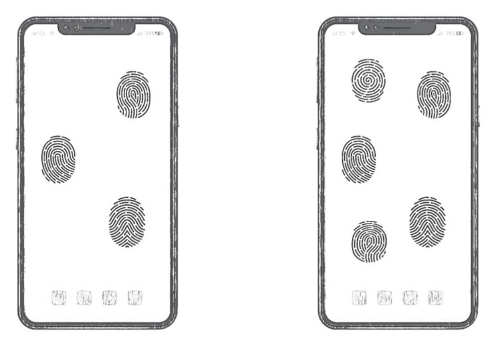 Full screen fingerprint technology