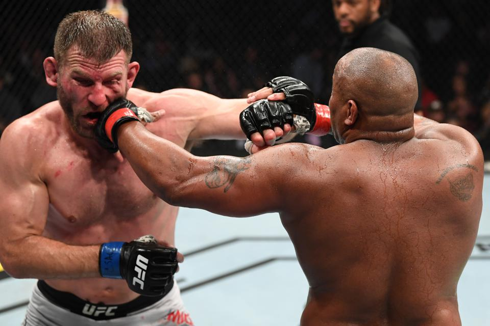 Stipe Miocic and Daniel Cormier headline Saturday's UFC 252 pay-per-view card