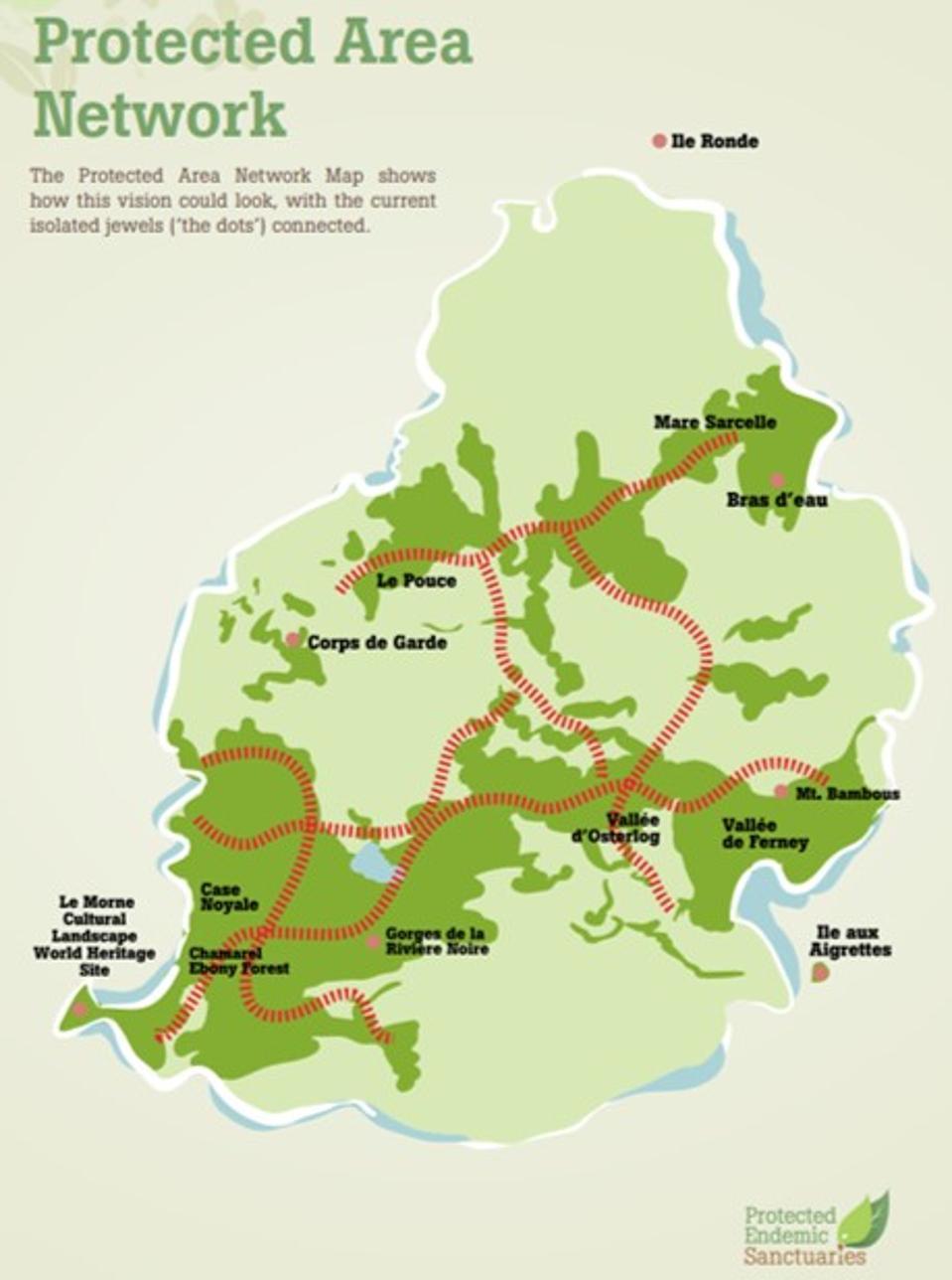 Mauritius Protected Area Network Wildlife