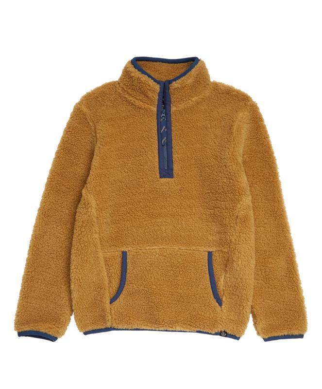 Cozy Fleece Half Zip Pullover