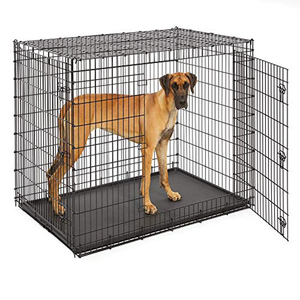 Midwest 'Ginormous' Double-Door Dog Crate for XXL Dogs Breeds