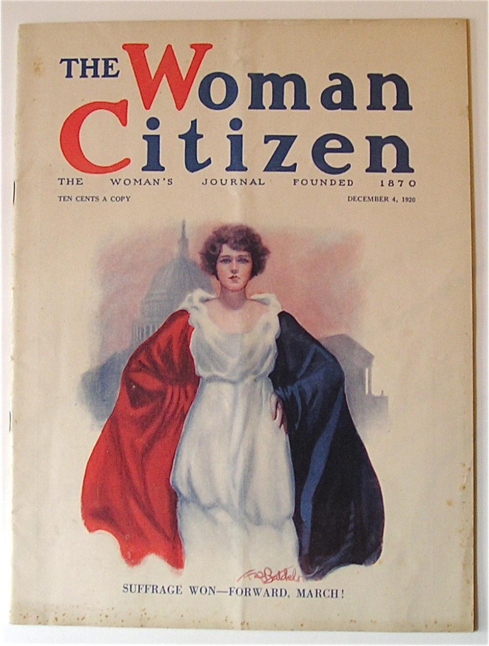 The Woman Citizen, August 1920