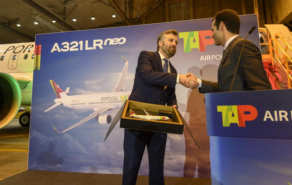 Presentation of the first TAP A321LRneo