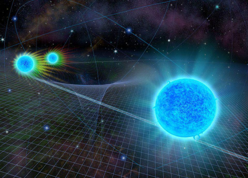 The combined effects of Doppler shifts and gravitational redshift affect the light we see.