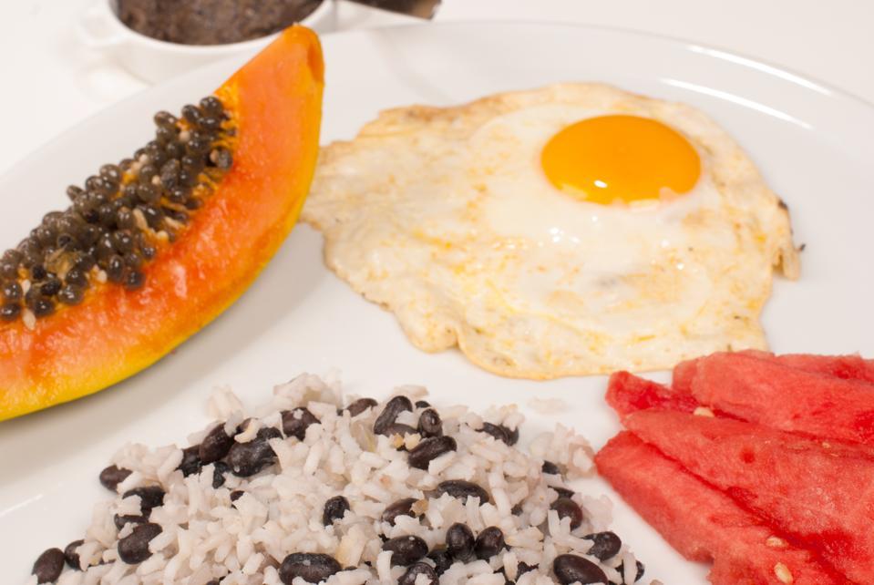 Central American breakfast