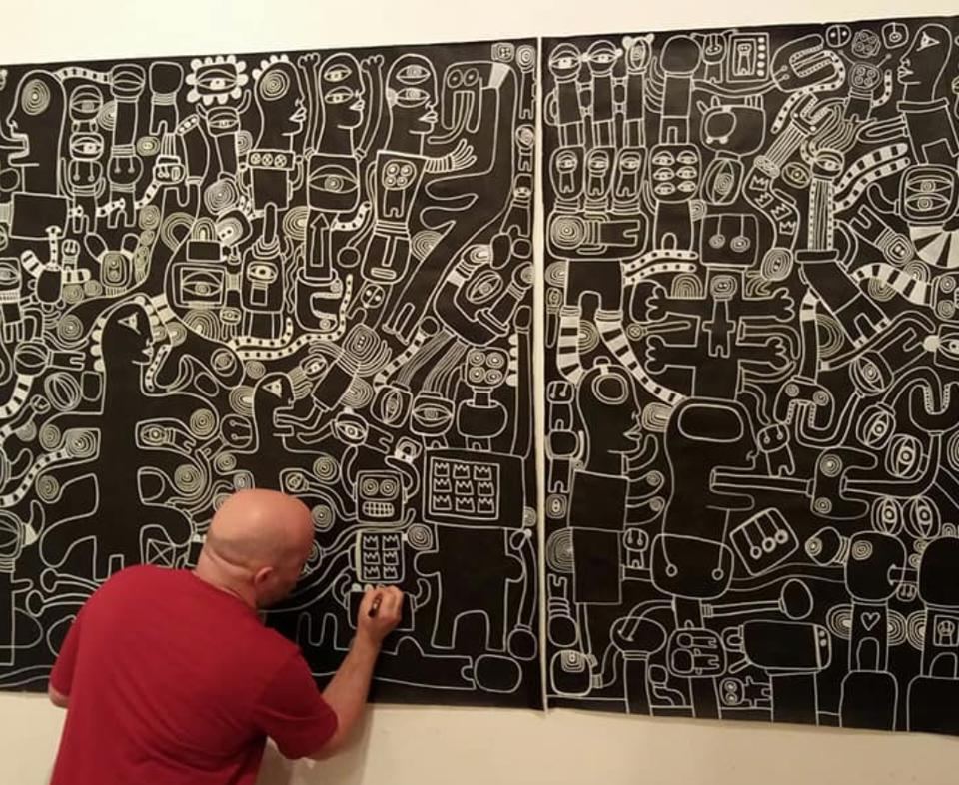 Artist Marc Craig