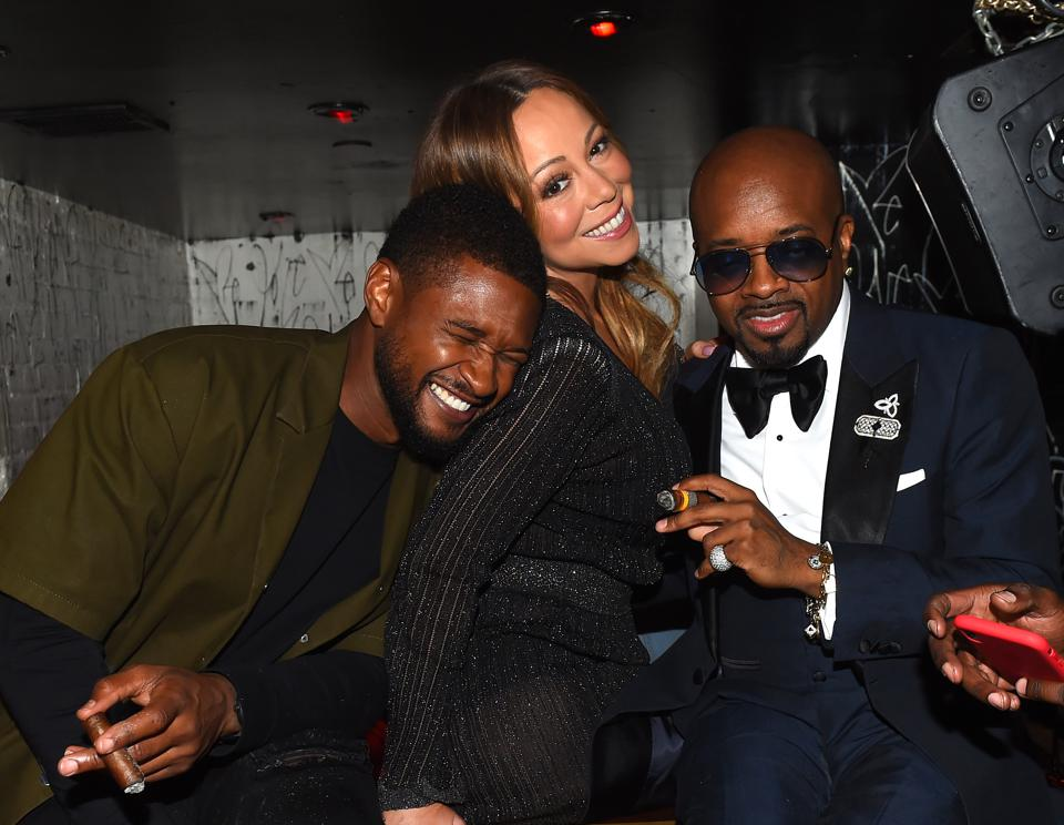 Jermaine Dupri celebrates So So Def 25 and induction into the Hall of Fame of Songwriters at GoldBar Toasted by Moet & Chandon