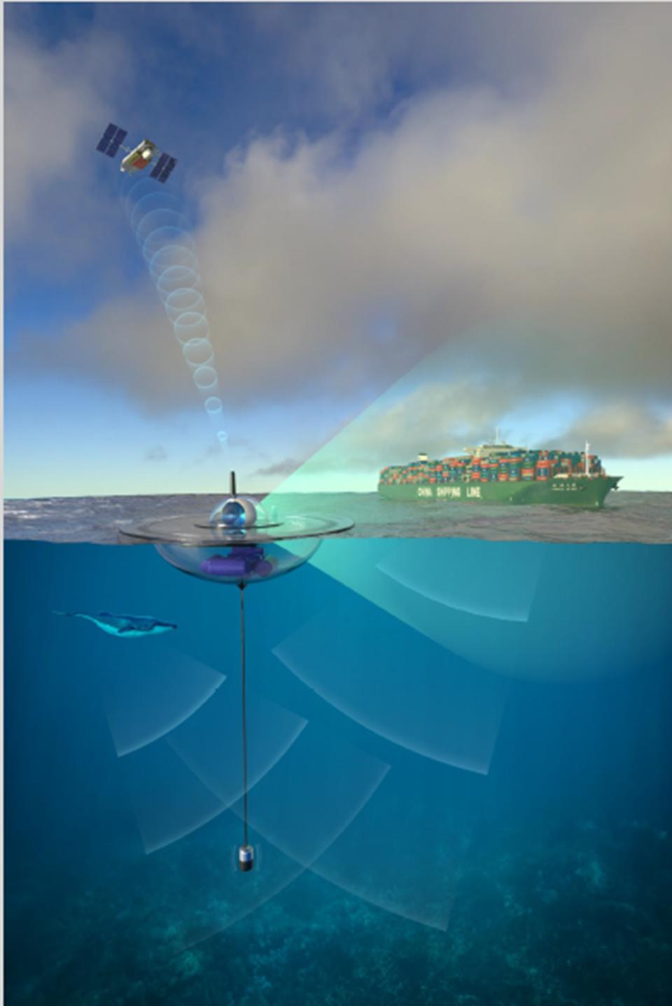 Floating sensor