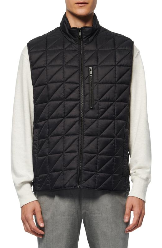 Marc New York Bramble Water Resistant Quilted Vest