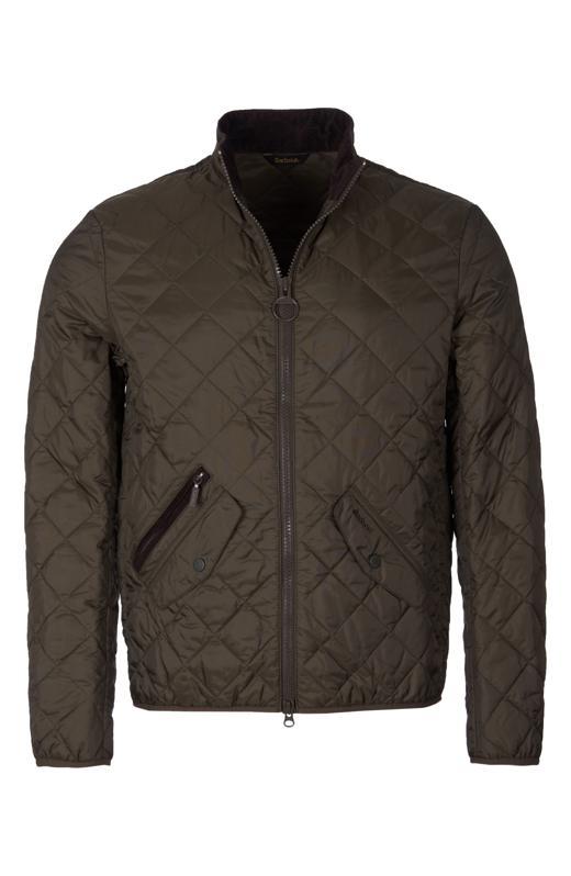 Barbour Kensington Quilted Nylon Jacket