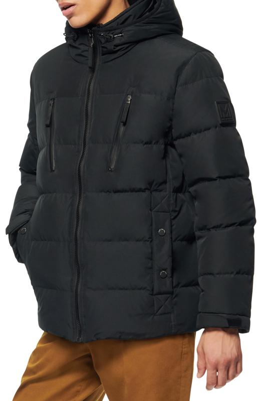 Marc New York Monrose Water Resistant Down & Feather Fill Quilted Coat