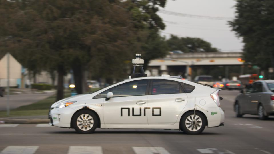Nuro Self-Driving Cars in Houston