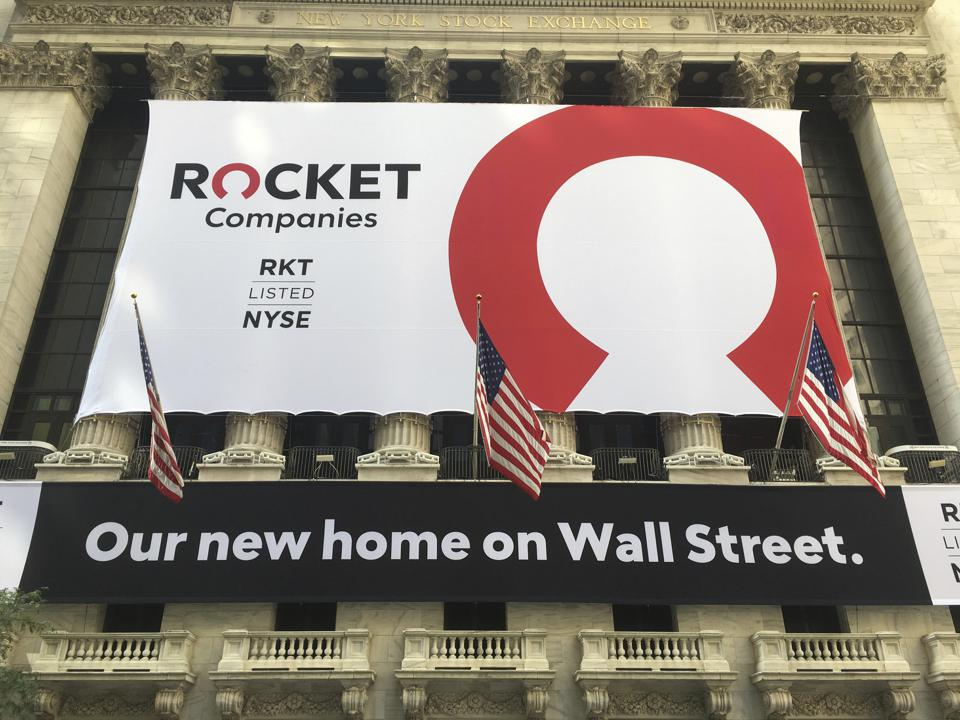 Rocket Companies makes Initial Public Offering - 8/6/20
