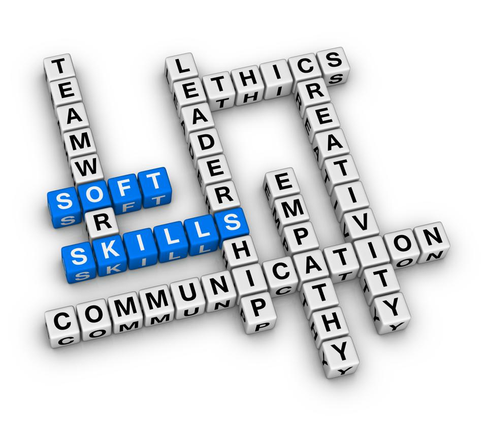 Personal Soft Skills Concept Word Cloud.