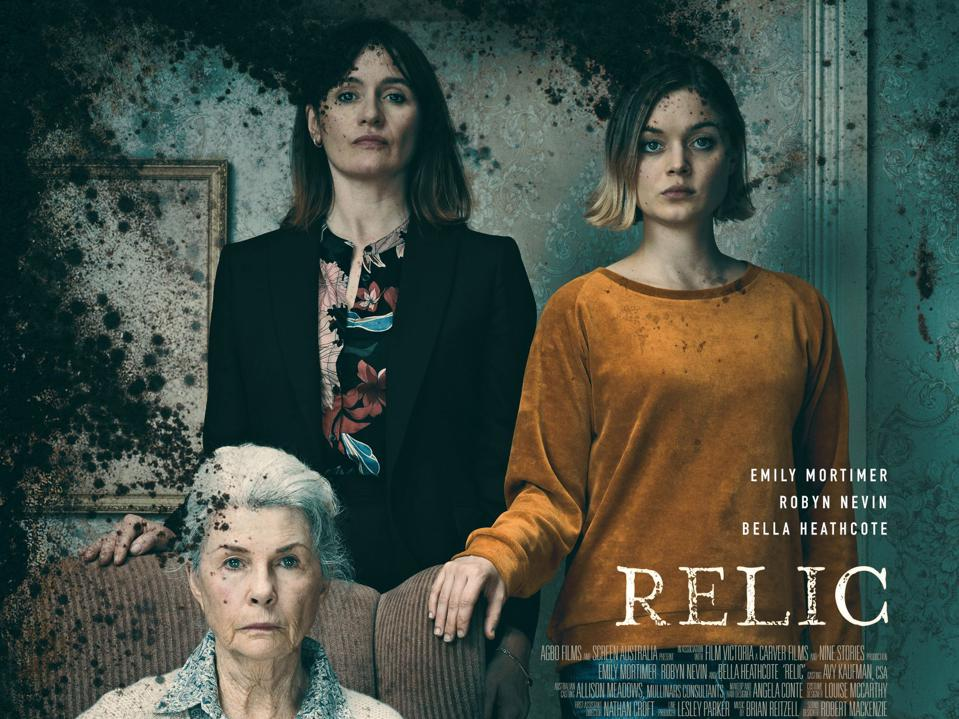 Poster for the film 'Relic'
