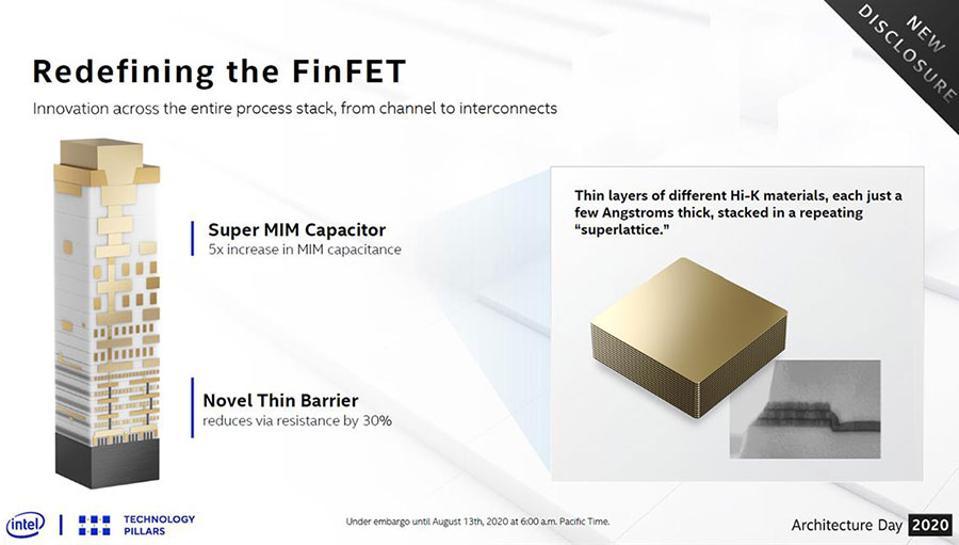 Intel 10nm SuperFin Transistor Technology